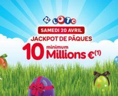 FDJ - Loto : jackpot de Pâques à 10 millions d'euros minimum