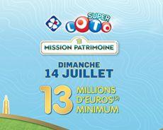 Super Loto du Patrimoine2019: 13 millions d'euros en jeu, comment faire pour y jouer?