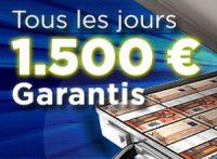 1.500 € à gagner chaque jour sur 888poker