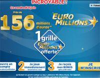 156 millions à l'Euro Millions ce vendredi 8 juin 2012