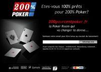 200% Poker est suspendu pour manque de performances