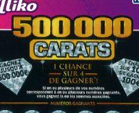 500.000 carats : la FDJ lance un nouveau jeu