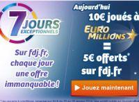Profitez des 7 jours exceptionnels sur FDJ.fr