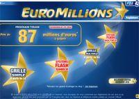 87 millions à l'Euro Millions ce vendredi 25 mai 2012