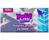 Monster Win, le nouveau jeu FDJ