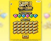 Découvrez le jeu Super 10 ou 200 de la FDJ