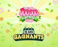 FDJ : retour du jeu 10 ans Gagnants et nouveau jeu 100 000 Surprises