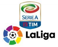 Lancement de la Liga et de la Serie A