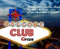 Le joueur de poker amateur Karim Alleg remporte le premier tournoi du Club Circus Paris
