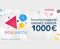 Découvrez le nouveau jeu Pick & Match de la FDJ