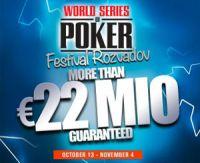 Les World Series Of Poker Europe ont débuté