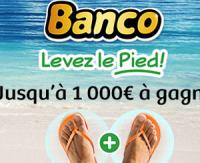 """Banco : """"Levez le pied"""" grâce à 2 nouvelles cases"""