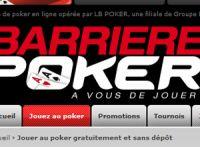Après Partouche, c'est Barrière qui va arrêter le poker en ligne