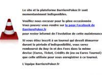 BarrierePoker.fr a encore des soucis techniques