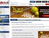Betclic mise sur Roland Garros : 3.000 euros à gagner