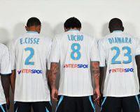 Betclic remplacé par Intersport sur les maillots de l'OM