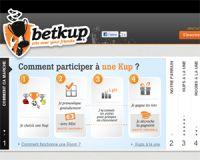 Betkup introduit les mises d'argent sur son site de paris sportifs