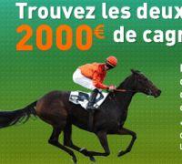 Betnet : Promo Spécial Galop le dimanche 15 mai, 2.000 € à gagner