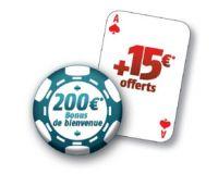 PMU Poker : 15 € en cash offerts pour tous les nouveaux joueurs