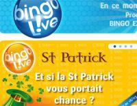 BINGO LIVE !® : et si la Saint Patrick vous portait chance ?