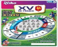 La FDJ lance un Bingo à l'honneur du XV de France