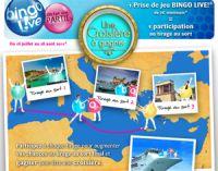 BINGO LIVE !® : gagnez une croisière du 18 juillet au 28 août