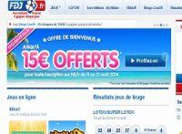 Un bonus de 15 euros à la Française des Jeux