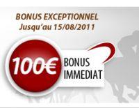 Le bonus Betclic Turf est le meilleur du marché jusqu'au 15 août
