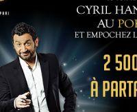Défiez Cyril Hanouna au poker sur PMU.fr