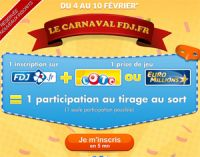 Le Carnaval sur FDJ.fr du 4 au 10 février : gagnez un séjour à Rio