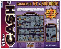 500 000 euros remportés au jeu de grattage Cash