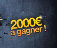 2.000 € à se partager sur EurosportPOKER avec la « Cash Game Race »