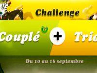 Un challenge Couplé-Trio sur Betclic Turf