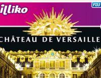 Le château de Versailles, un jeu à gratter