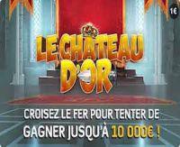 Jeu de grattage : Tout sur le Château d'Or