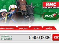 PMU Turf, partenaire des « courses RMC »