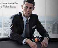 Cristiano Ronaldo avec PokerStars