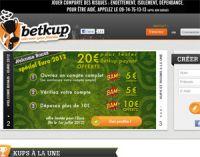 Demi-finales de l'Euro 2012 et Wimbledon : 20 € de bonus sur Betkup