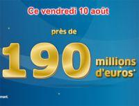 Euro Millions du 10 août : dernière possibilité pour les 190 millions