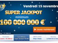 Euro Millions : 100 millions ce vendredi 15 novembre 2013