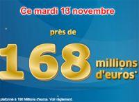 Euro Millions du mardi 13 novembre : aurevoir Président… Hollande ?