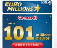 Euro Millions de ce mardi 21 juin : 1 grille offerte pour 101 millions