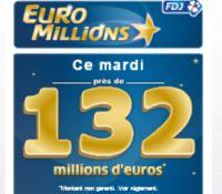 Euro Millions ce mardi 28 juin : près de 132 millions à gagner !