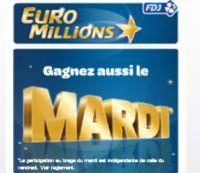 Euro Millions mardi 5 juillet (près de 171 millions) : une grille offerte !