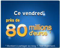 Euro Millions : vendredi 11 mars, jouez en ligne pour 80 millions !