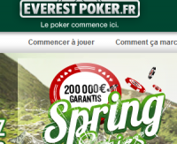 Everest Poker : fusion avec Betclic