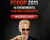 Les FCOOP de PokerStars 2011 : un record de participation