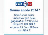 FDJ : les gagnants et quelques chiffres sur 2013