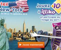 Partez à New York avec Illiko