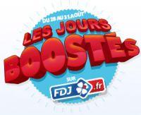 Les jours boostés chez FDJ.fr